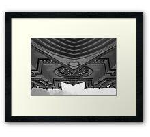 the mothership Framed Print