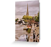 Bristol Docks Greeting Card