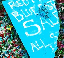 Red Fish Blue Fish Sale by PictureNZ