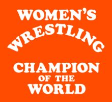 Inter-Gender Wrestling Champion of the World (White) by BiggStankDogg