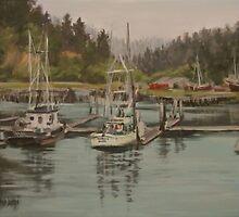Winchester Bay by Karen Ilari