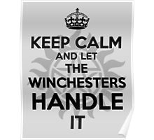 KEEP CALM: Winchesters Poster