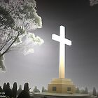Memorial Cross by DiverDeb
