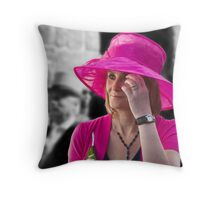 Standing Out From The Crowd ~ Helston Flora Day Throw Pillow