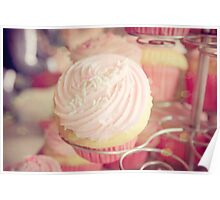 Pink Ribbon Day Cup Cake Poster