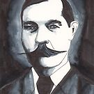Arthur Conan Doyle by Dinah Stubbs
