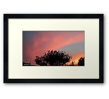 July 2012 Sunset 32 Framed Print