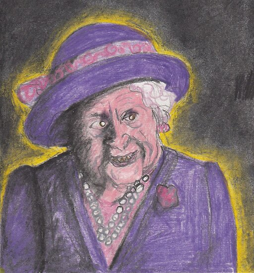 HRH The Queen Mother by Dinah Stubbs