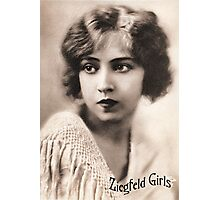 Ziegfeld Girls ... Doris Eaton Travis 1922 Photographic Print