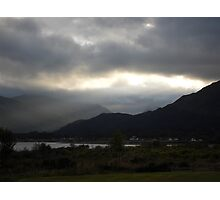 Loch Linhie scenery Photographic Print