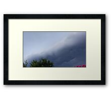Severe Storm Warning 2 Framed Print