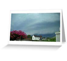 Severe Storm Warning 5 Greeting Card
