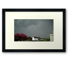 Severe Storm Warning 10 Framed Print