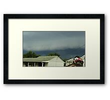 Severe Storm Warning 15 Framed Print