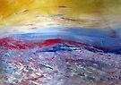 An abstract landscape by Elizabeth Kendall