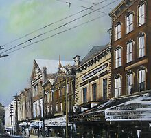 East Main Street from Roanoke Avenue circa 1895, Norfolk, VA by Jsimone
