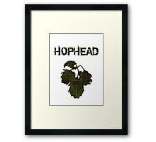 Hophead Framed Print