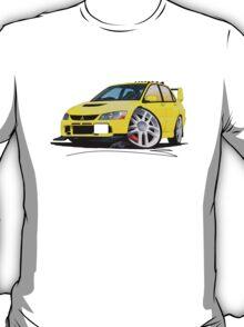 Mitsubishi Evo IX Yellow T-Shirt