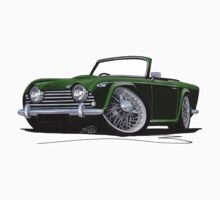 Triumph TR5 Dark Green by Richard Yeomans
