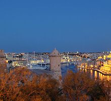 Valletta - Grand Harbour by refar