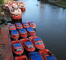 Row, Row, Row of Boats by ellismorleyphto