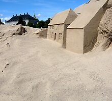 Sand & Houses by HeklaHekla