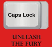 CAPS LOCK FURY!!! T-Shirt