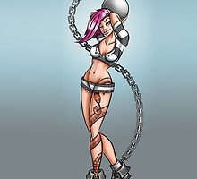 Jailbird Pinup by Eights