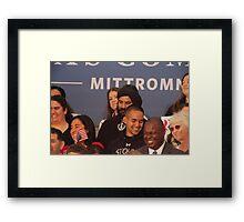 Mister Bling Framed Print