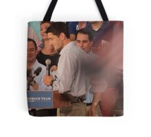 Paul Ryan wafts one to the crowd Tote Bag