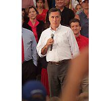 Mitt Romney Abashed Photographic Print