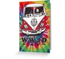 WWJD ? Greeting Card