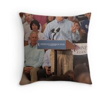 Scott Walker Pronouncing Vowels Throw Pillow