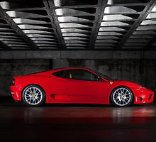 Ferrari Challenge Stradale by Jan Glovac Photography