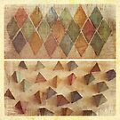 paper pyramids by © Karin  Taylor
