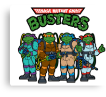 Teenage Mutant Ghost Busters Canvas Print