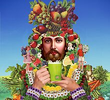 Herbal Jesus by dukepope