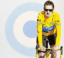 BRADLEY WIGGINS - MOD GOD CYCLIST by Phil Bower