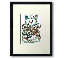The Ships Cat Framed Print