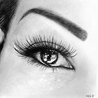 Reflections 3 (Melanies eye) by Martin Lynch-Smith