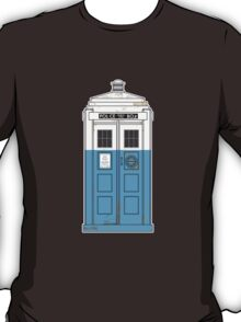 """The Dharma Initiative has the phonebox..."" T-Shirt"