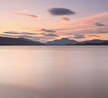 Loch Lomond Sunset by Maria Gaellman