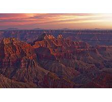Bright Angel Sunset Photographic Print