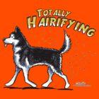 Siberian Husky :: Totally Hairifying by offleashart