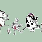 Zombie Farm by jrock1184