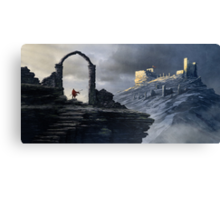 Distant Fort Canvas Print