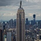 Empire State Building portrait by Gary Eason