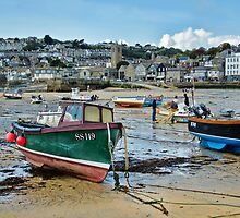 St Ives Harbour ~ Cornwall by Susie Peek