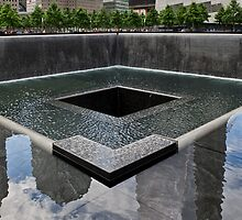Ground Zero memorial pool by Gary Eason + Flight Artworks