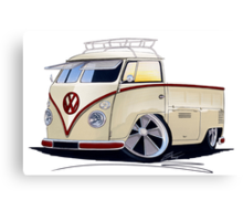VW Splitty Pick-Up (RB) Canvas Print